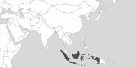 Map of Area Indonesia